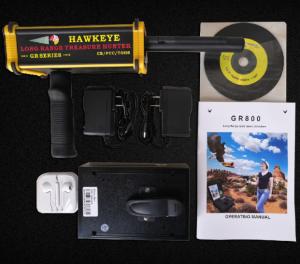 美国新黑鹰GR-800远程金银铜玉金属探测器